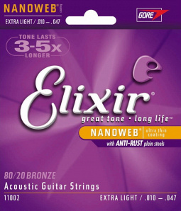 ELIXIR Anti Rust NanoWeb Extra Light 11002
