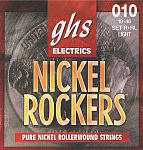 Струны для электрогитары GHS STRINGS R+RL NICKEL ROCKERS 10-46